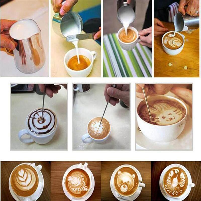 Fantastic Bếp Sữa Inox không gỉ Bình đựng Cà Phê Espresso Chảo Barista Thủ Công Sữa Cà Phê Latte Không Gỉ Bình Bầu #150 ml