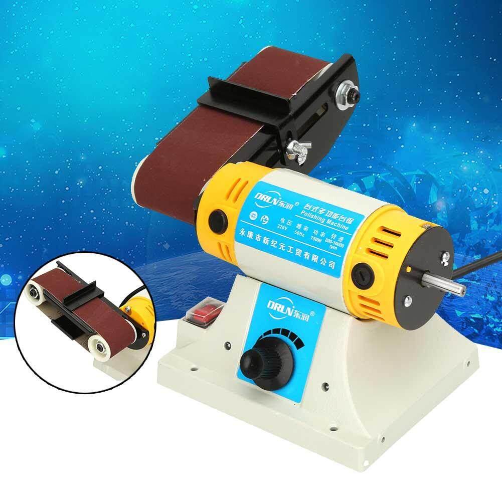 Electric Sanding Desktop Belt Sander Polishing Machine 750W EU Plug 220V