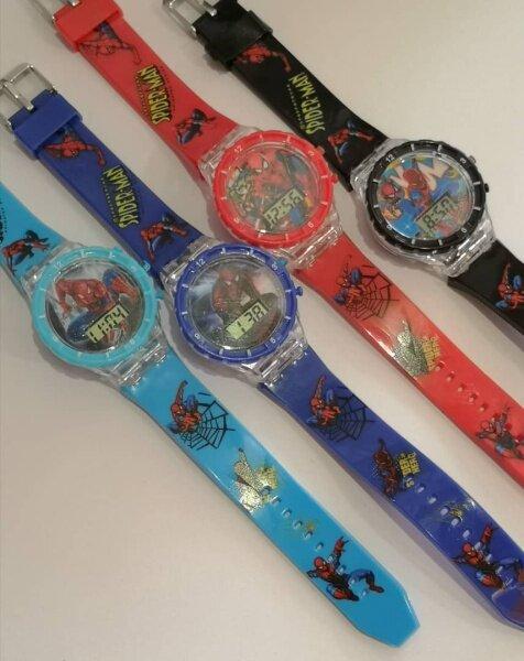 💥readystock💥 Kids Watches Cartoon with Music Light / Jam Tangan Budak Lampu dan Muzik Spiderman Malaysia