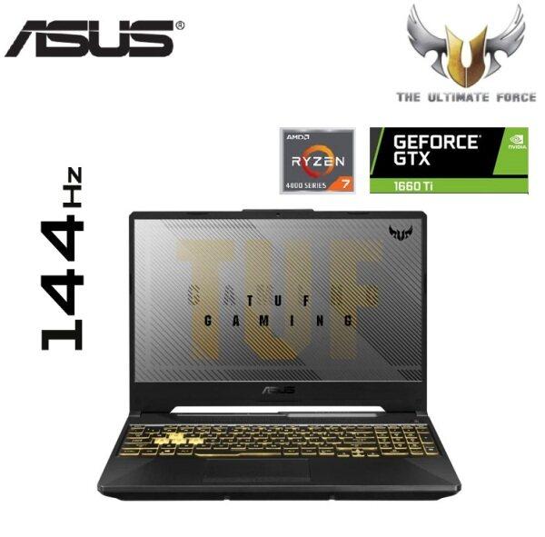 Asus TUF A15 FA506I-UHN203T 15.6 FHD 144Hz Gaming Laptop (Ryzen 7 4800H, 8GB, 512GB SSD, GTX1660TI 6GB, W10) Malaysia