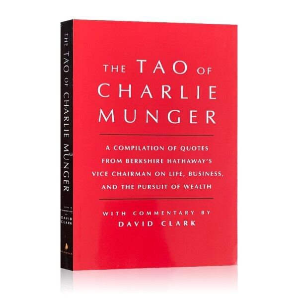 The Tao of Charlie Munger By David Clark Business Book Wealth Book Financial Investment Idea English Books Reading Pursuit of Wealth Investors Gifts Malaysia