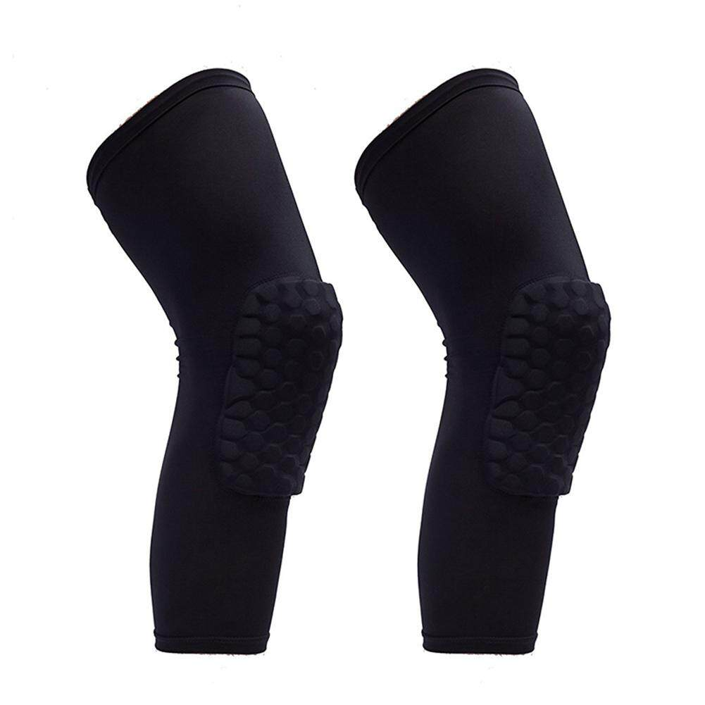 2 Pcs Kneepad Honeycomb Knee Pads Leg Sleeve Protective Pad Outdoor Sports Support Guards