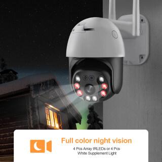 Camera Quan Sát IP INQMEGA 5MP Mạng WiFi Không Dây Zoom Kỹ Thuật Số 4X Ngoài Trời Phát Hiện Người AI Camera ONVIF P2P thumbnail