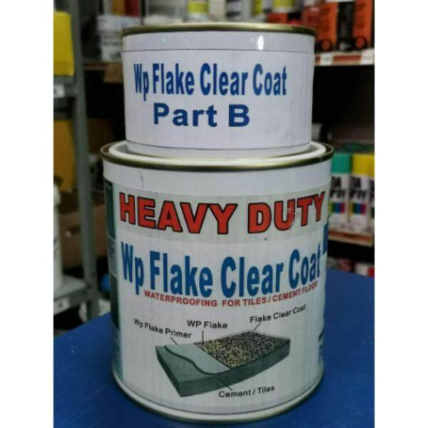 1L WP FLAKE CLEAR COAT EPOXY FOR FLAKE FLOOR HEAVY DUTY