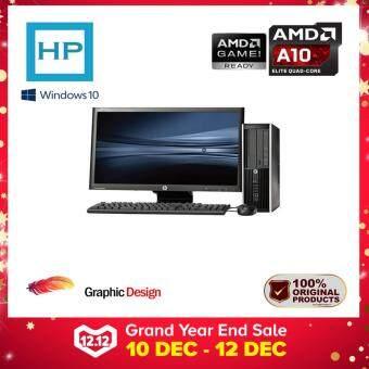 HP PRO 6305 SLIM SFF AMD A10 QUAD CORE 4.20GHZ/ 4GB/ 500GB HDD/ AMD RADEON HD7660D/ 20 INCH LED HD+ (GAMING/ GRAPHIC PC)
