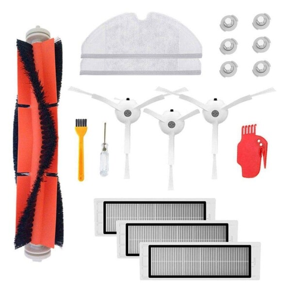 Accessories Kit For Xiaomi Mi Robot Roborock S50 S51 Xiaomi Mijia Robotic Vacuum Cleaner Replacement Parts