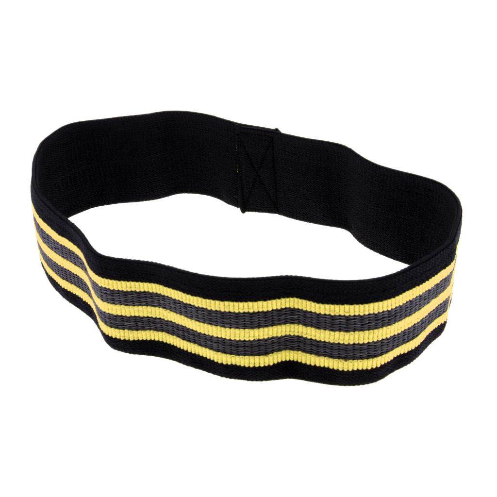 DYNWAVE Durable Resistance Loop Band Hip Strength Band for Workout Booty Yoga Body Mobility & Powerlifting Bands Perfect for Body Stretching, Powerlifting, Resistance Training