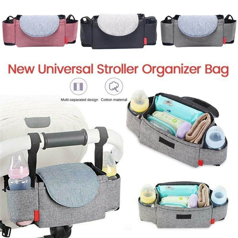 Large Capacity Baby Stroller Bag Storage Organizer Mom Travel Hanging Carriage Pram Mummy Diaper Bags Stroller Accessories Singapore