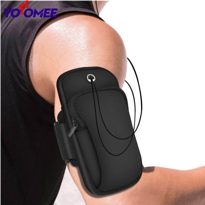 Băng đeo tay thể thao yoomee, túi đa năng tập thể dục tập thể dục chạy Túi chống nước màu đen