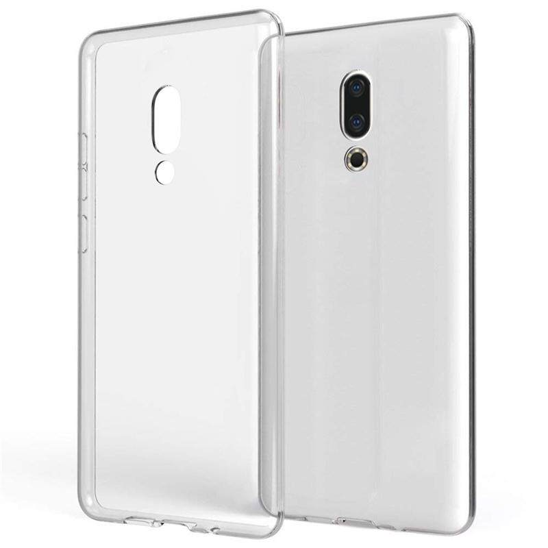 Moonmini Case for Meizu 16 Case Transparent Soft TPU Dropproof Shockproof Phone Back Case Protection Cover