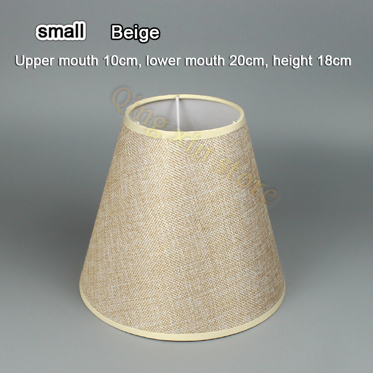 E27  Lamp Shades Table Lampshade Floor Lamp Chandelier Wall Lamp Fabric Lampshade Linen Accessories Shell E14 Lampshade Adapter Ring