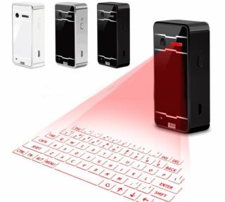 [Monikse] Bàn Phím Chiếu Ảo Laser, Loa Siêu Lớn Toàn Phím HID Bluetooth 2.0 Không Dây thumbnail