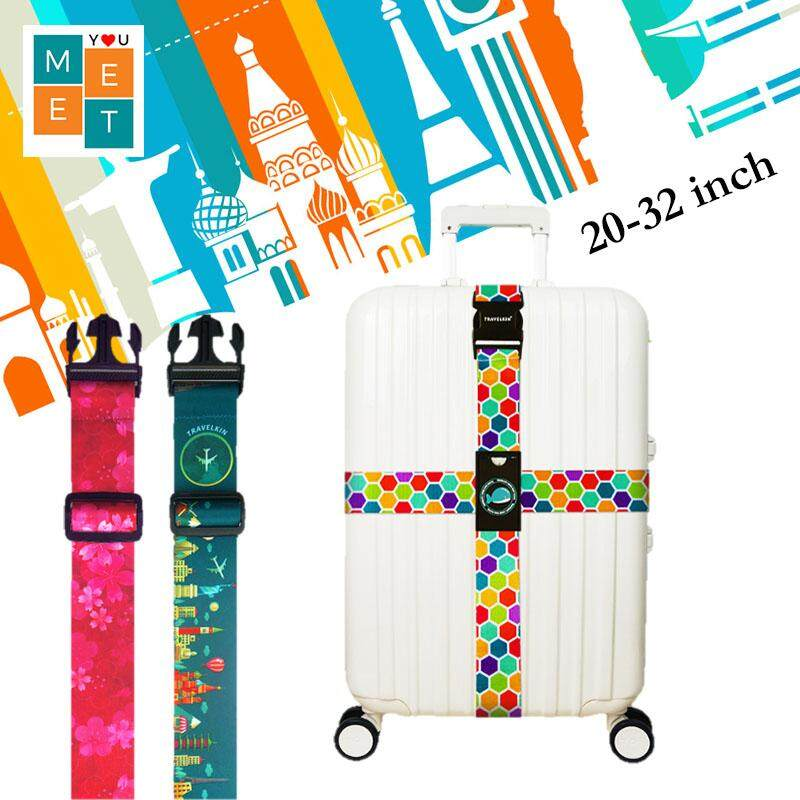 Travelkin High Quality Luggage Cross Strap Belt Band image on snachetto.com