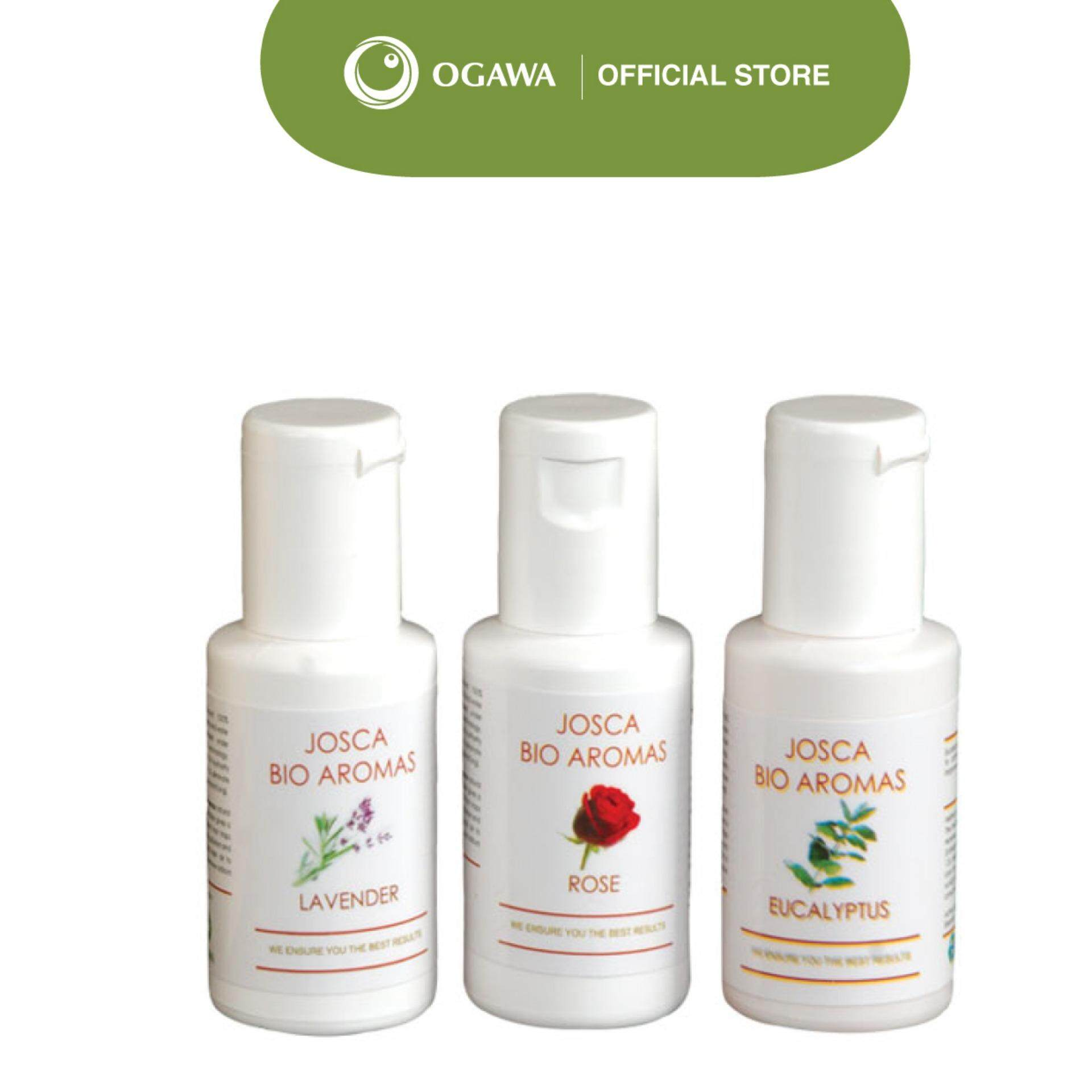 Ogawa Aroma Oil Essence 3 In 1 Starter Pack 30ml By Ogawa.