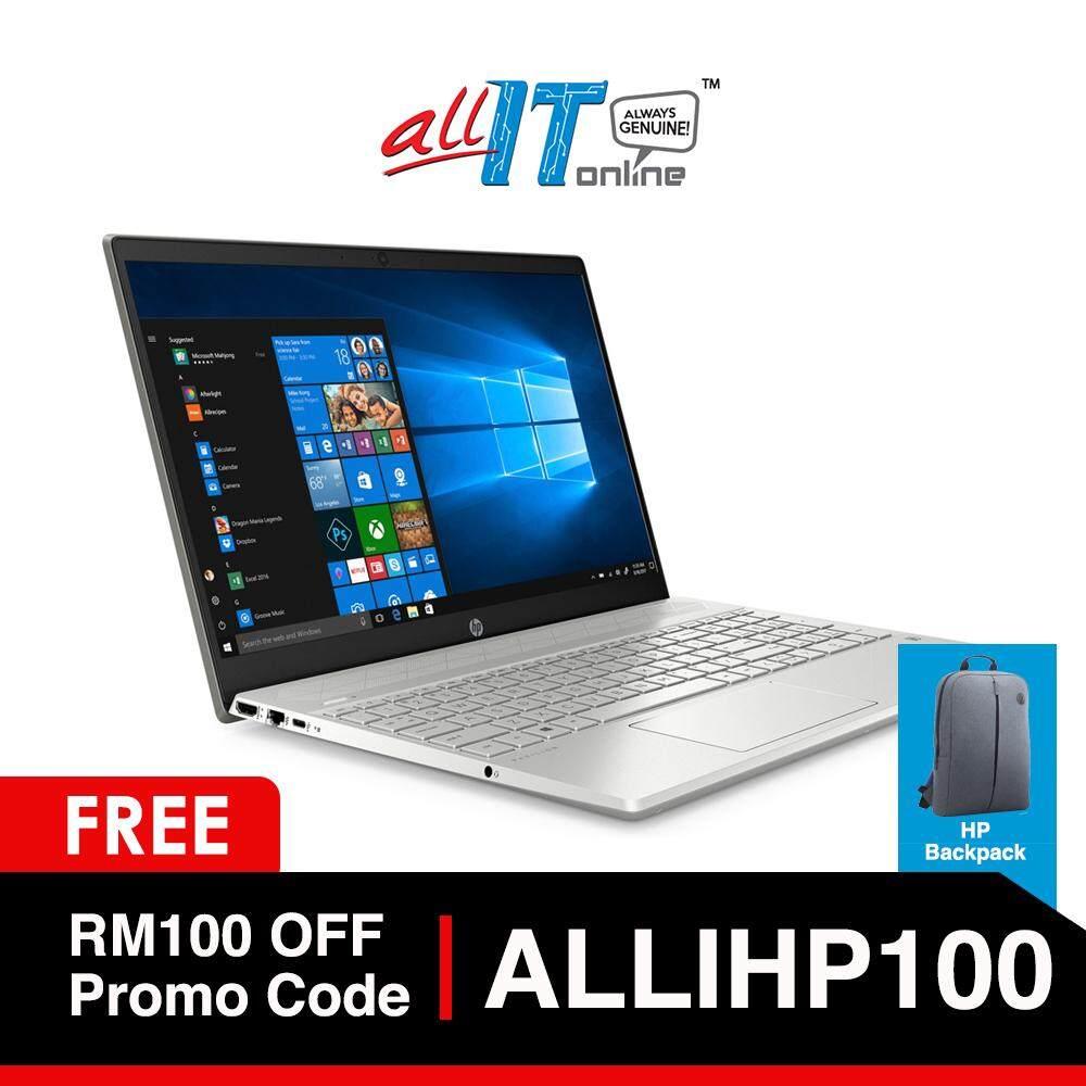 HP Pavilion 15-cs2010TX 15.6 Notebook Silver [i5-8265U, 4GB, 256GB, MX250, W10H] Malaysia