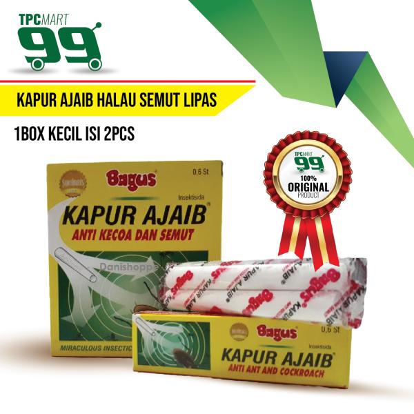 READY STOCK Kapur Ajaib Halau Semut Lipas - 1kotak kecil isi 2pcs
