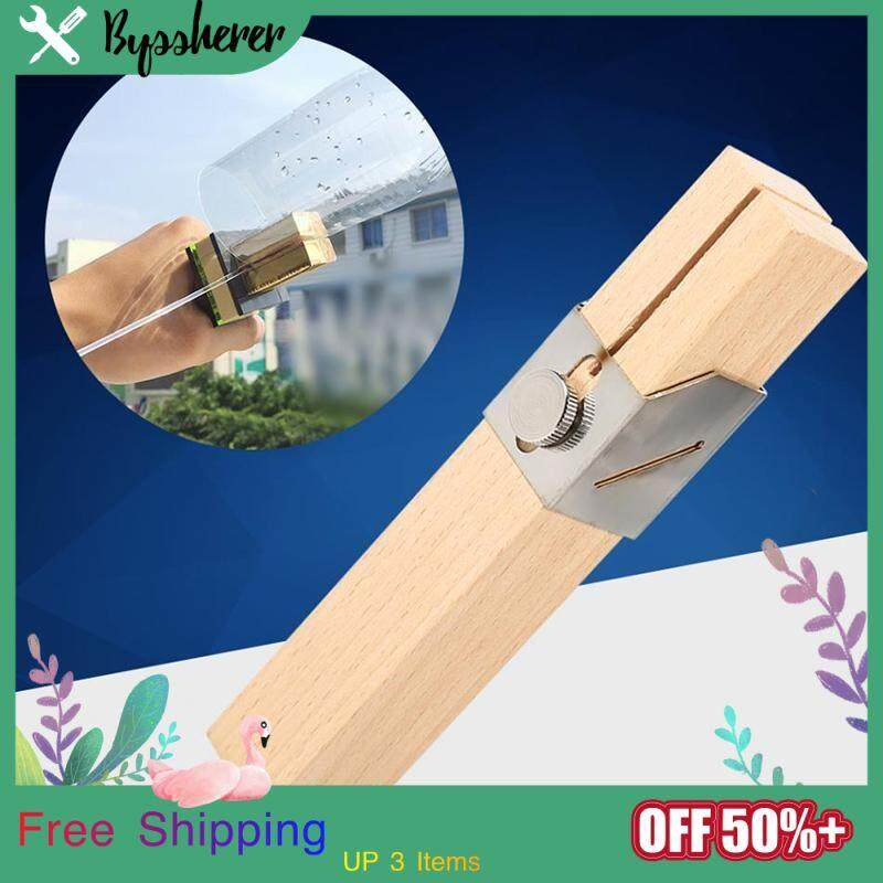 Byssherer Wood Color Home Reuse Recycling Plastic Bottle Easy To Save Carrying Creative DIY Manual Craft Intelligent Rope Cutter