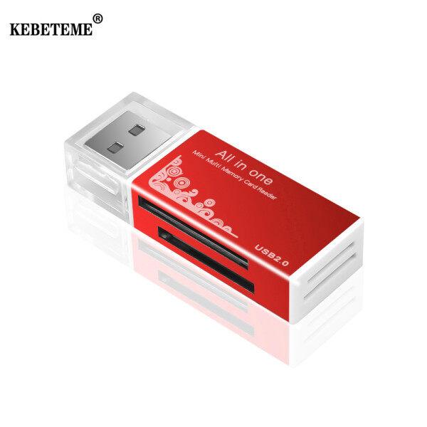 Bảng giá Đầu Đọc Thẻ Nhớ USB 2.0 KEBETEME, Thiết Bị Đọc Thẻ Nhớ Đa Năng TF, Micro SD, Tất Cả Trong 1 Cho PC, Máy Tính Phong Vũ