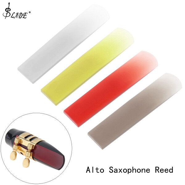 SLADE Alto Saxophone Reed Sax Resin Reed Strength 2.5 4 Colors Optional Saxophone Accessories Malaysia