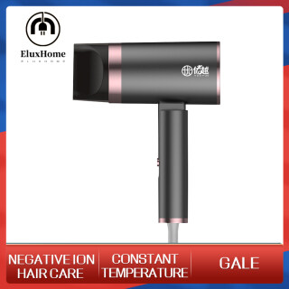 EluxHome Hair Dryer Negative Ion Hair Dryer Silent Hair Dryer Constant Temperature Foldable Hammer Blower Household Hair Care Mute Power 800W Hair Dryer for Quick Drying Hair Care thumbnail