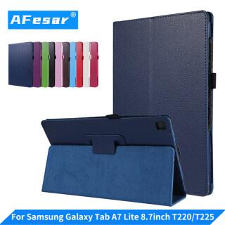 SM-T220 Samsung Galaxy Tab A7 Lite 8.7 SM-T225 (8.7 Inch) Bao Da Đứng Lật Pu thumbnail