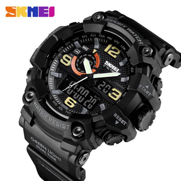 SKMEI New Men Sport Digital Watch Large Dial Multifunction LED Light Waterproof Wrist Watch 1520 For Men Malaysia