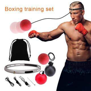 Đi Kèm Bao Đấm Boxing Tập Thể Dục Đánh Bóng Với Băng Cho Phản Xạ Tốc Độ Quyền Anh Đào Tạo thumbnail
