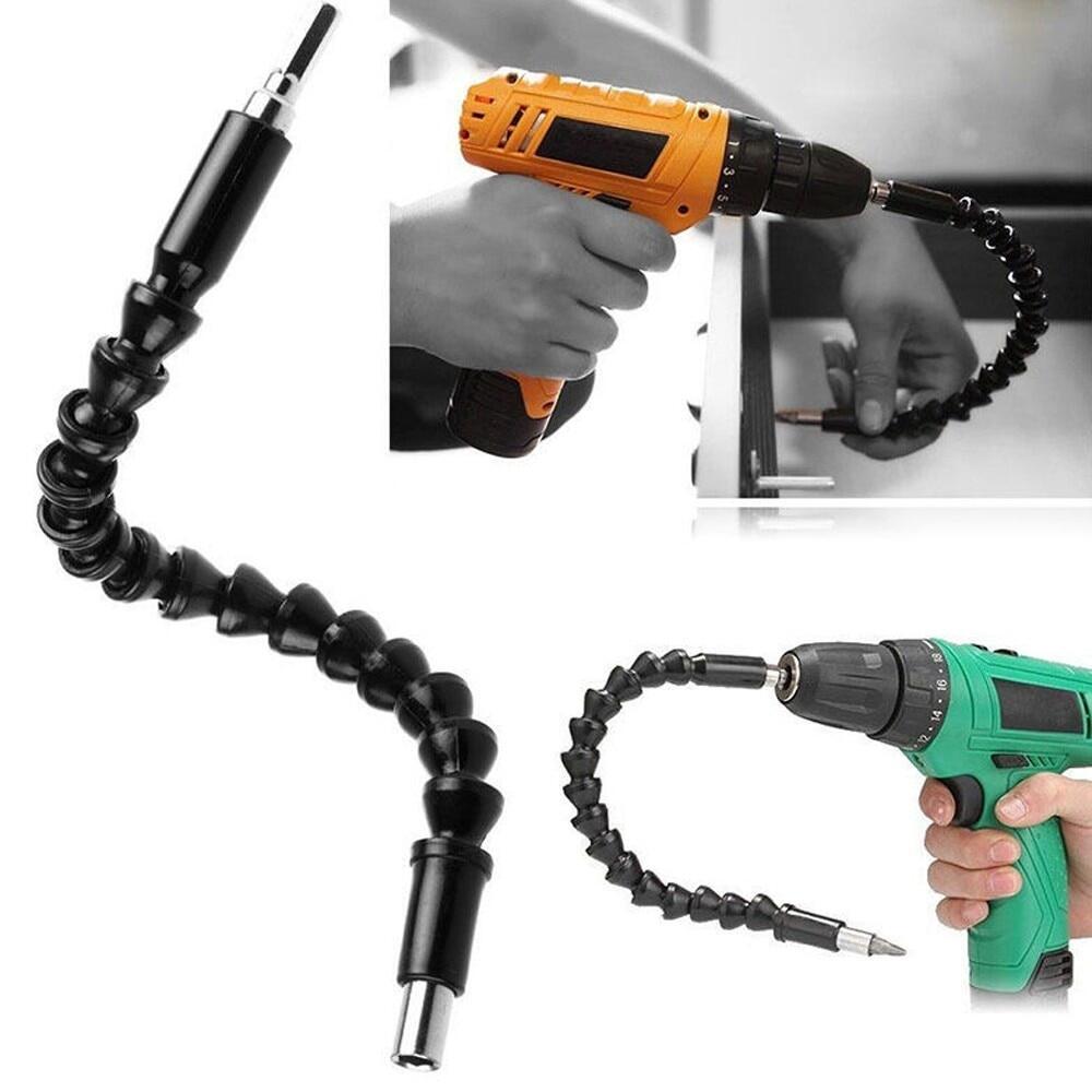 Công cụ sửa chữa xe mũi khoan trục mềm 295mm gia hạn tuốc nơ vít khoan bit  chủ kết nối liên kết cho máy khoan điện tử chất lượng cao - Sắp