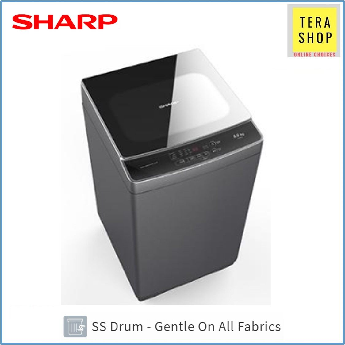 Sharp ESX958 Fully Auto Washing Machine 9KG Mesin Basuh
