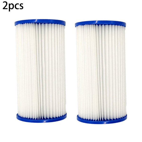 2Pcs Swimming Pool Filter Replacement Cartridges for Intex Easy Set Type A or C