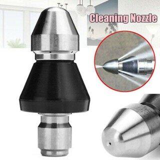Dụng Cụ Làm Sạch Vòi Rửa, 1-Front 6-Rear 1 4in Phụ Kiện Làm Sạch Cống thumbnail