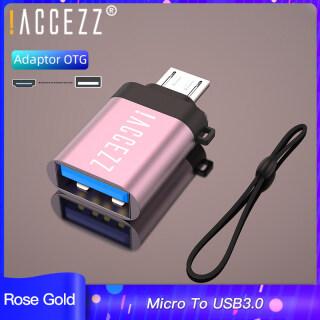 ACCEZZ Bộ Chuyển Đổi USB OTG, Micro Đực Sang USB3.0, Chuột Đồng Bộ Dữ Liệu Android Cho Samsung S6 Xiaomi 4 Đầu Nối OTG thumbnail
