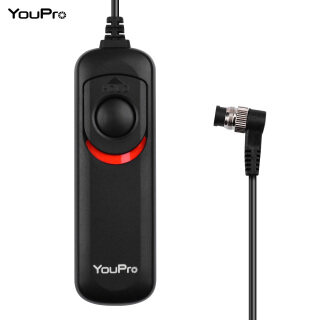 YouPro DC0 Type Shutter Release Cable Timer Remote Control 1.2m 3.9ft Replacement for Nikon D810 D800 D800E D700 D500 D5 D4 D300 D300S FUJIFILM S5 Pro S3 Pro Kodak DCS-14n thumbnail