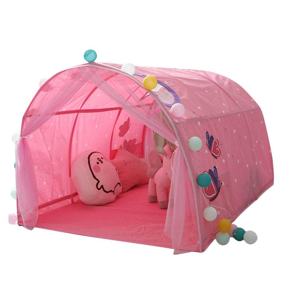 KR Trẻ Em Ngủ LềU Nhà Trò Chơi Bé Nhà Lều Bé Trai Gái Ngôi Nhà An Toàn Đường Hầm Lều - 1