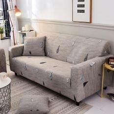 [Chinatera] 1/2/3/4 Chỗ Ngồi Kiểu Bắc Âu Đơn Giản Raindrop In Bọc Chặt Chẽ Trượt Tất Cả Bao Gồm Sofa Bọc Ghế