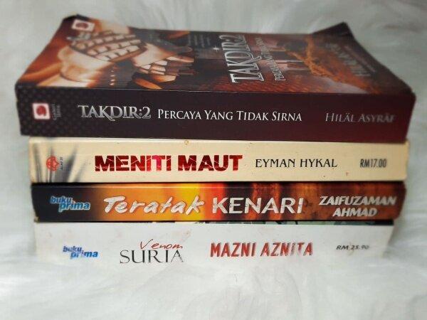 💢NOVEL AKSI PRELOVED💢 NOVEL SERAM AKSI JENAYAH TERPAKAI PRELOVED Malaysia