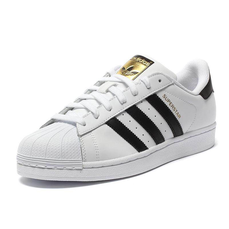 new arrival 312c4 cb235 2019 New Adidas Official SUPERSTAR Clover Women s And Men s Skateboarding  Shoes Sport Outdoor Sneakers Low Top