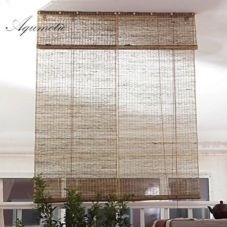 Room Dividers And Folding Privacy Screens Natural Retro Curtain Ramie Room Split Light Decorative Partition Wall