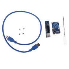 Bộ Chuyển Đổi Cổng Thẻ Riser Mini PCIE Sang PCI-E X4 Đầu Nối Thẻ Đồ Họa PC Với Cáp Mở Rộng USB3.0 30CM