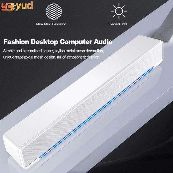 yuci SADA USB Wired Powerful Computer Speaker Bar Stereo Subwoofer Bass speaker Surround Sound Box for PC Laptop phone Tablet MP3 MP4 Malaysia