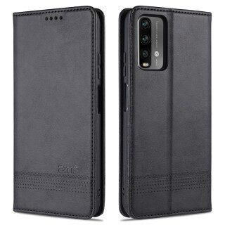 Dành Cho Xiaomi Redmi 9T Trường Hợp Điện Thoại, Magnetic Leather Wallet Nắp Gập Có Khe Cắm Thẻ, Vỏ Bảo Vệ Điện Thoại Di Động thumbnail