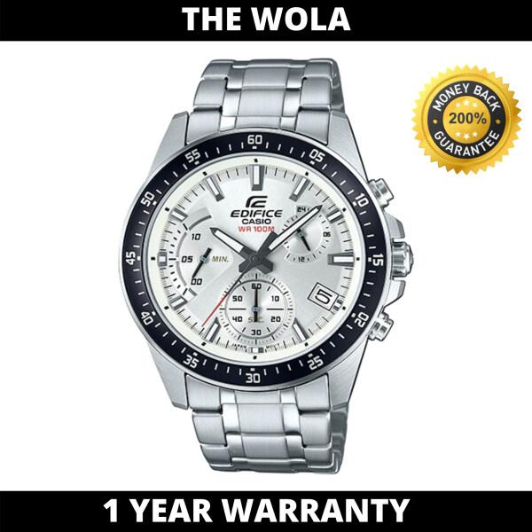 (100% Original EDIFICE)EDIFICE Men Casual Watch EFV-540D-7AVUDF (watch for man / jam tangan lelaki / casio watch for men / Edifice watch / men watch / watch for men) Malaysia