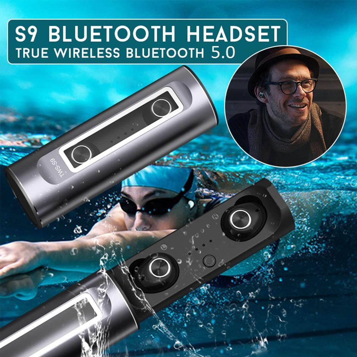 TWS-S9 Wireless Bluetooth 5.0 Earphone Headset In-Ear Stereo Earbuds