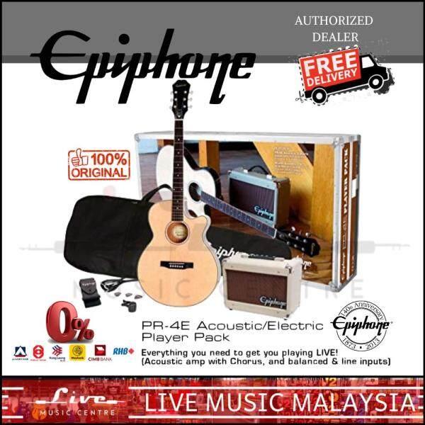 Epiphone PR-4E Acoustic Guitar/Electric Player Pack (PR4E) Malaysia