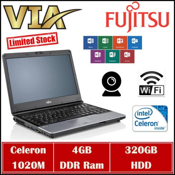 【STUDENT BOOK】FUJITSU LIFEBOOK S762/G~CELERON 1020M~4GB RAM~320GB HDD~WEBCAM Malaysia