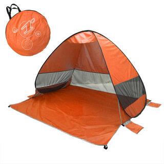 Cắm Trại Lều Cho 2-3 Người Lều Tự Động Ngoài Trời Tắm Lều Hướng Dẫn Sử Dụng Xây Dựng Lều Lều Cắm Trại Chống Tia Cực Tím Chống Nước, 200X165X130CM Với Túi Carry thumbnail