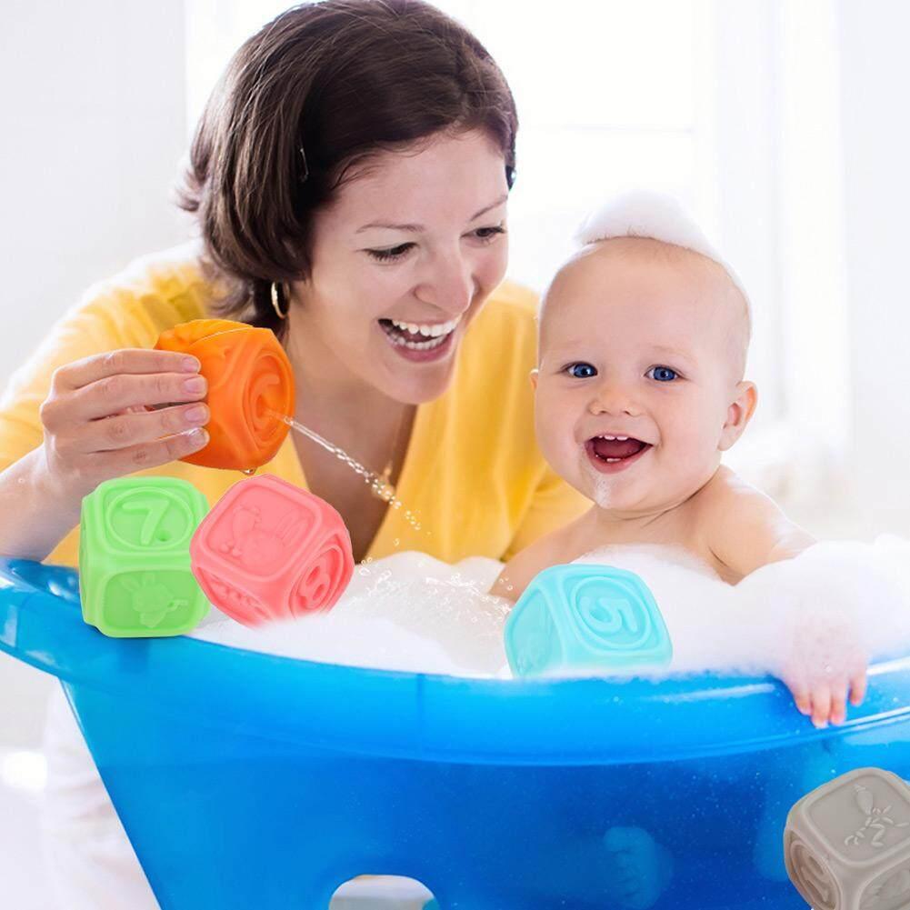 Soft & ลูกพื้นผิวสำหรับทารกและเด็กวัยหัดเดิน Touch ลูกบอลนิ่มเด็กนวดยางบีบ By Cherishone.