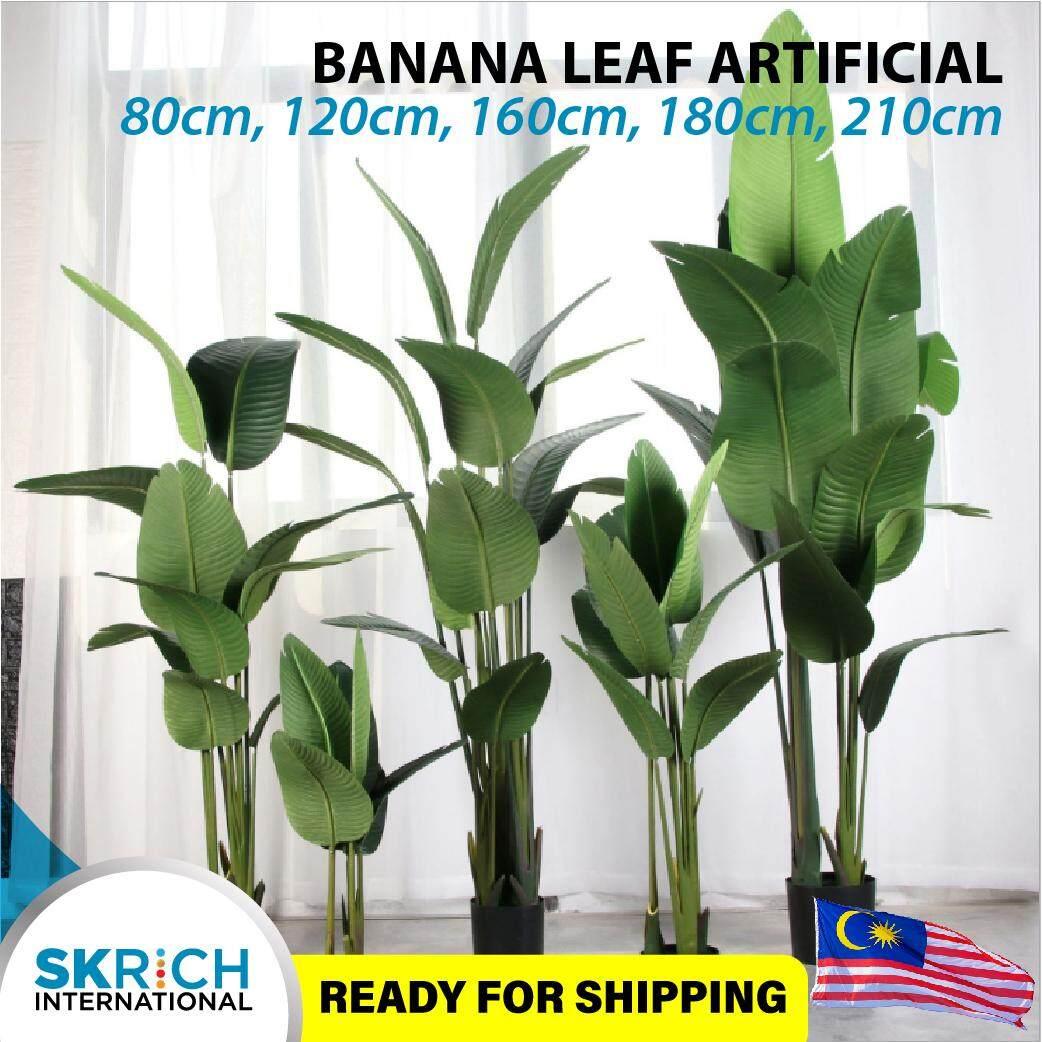 Pokok Pisang Airtificial Banana Tree 80cm 120cm 160cm 180cm 210cm
