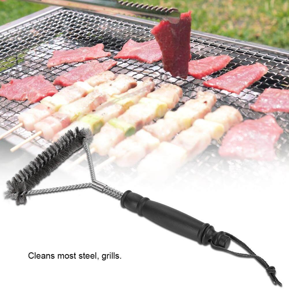 Bếp nướng Bàn Chải Mạnh Mẽ Bếp BBQ Bụi Thép Không Gỉ An Toàn Dây Lông Bàn Chải