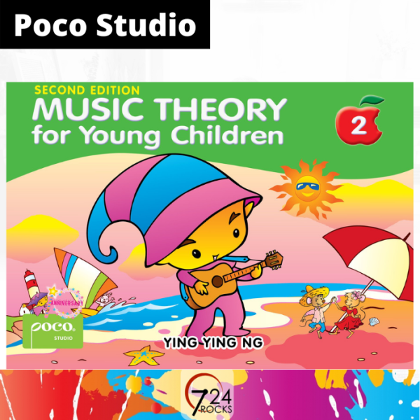 724 ROCKS Poco Studio Music Theory for Young Children Book 2 / Reference Method Lesson Book Malaysia